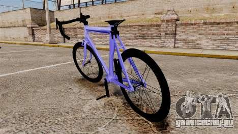 GTA V Race Bike для GTA 4 вид сзади слева