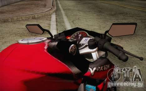 Yamaha V-Ixion 2014 для GTA San Andreas вид изнутри