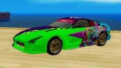 Toyota Supra Evil Empire для GTA San Andreas