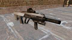 Автомат Steyr AUG-A3 Chrome для GTA 4