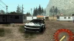 Спидометр в стиле neon для GTA San Andreas