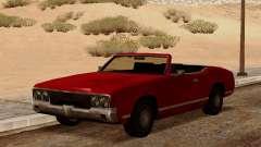 Sabre Кабриолет для GTA San Andreas