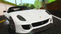 Ferrari 599XX Evolution для GTA San Andreas