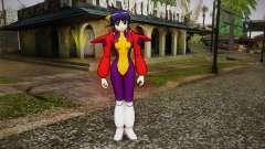 Andou Mahoro in battle suit для GTA San Andreas