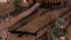 Автомат Калашникова АК-74М для GTA San Andreas