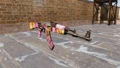 Автомат АК-47 Dots для GTA 4