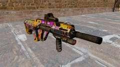 Автомат Steyr AUG-A3 Graffitti для GTA 4