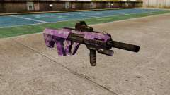 Автомат Steyr AUG-A3 Optic Purple Camo для GTA 4