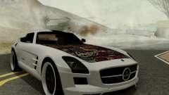 Mercedes SLS AMG Hamann 2010 Metal Style