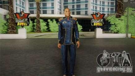 Captain David Anderson из Mass Effect series для GTA San Andreas