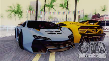 Zentorno GTA 5 V.1 для GTA San Andreas