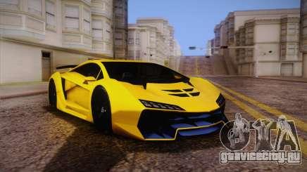 Zentorno из GTA 5 для GTA San Andreas