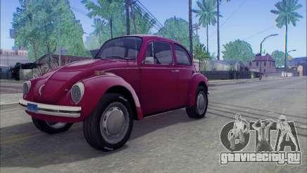 1973 Volkswagen Beetle для GTA San Andreas