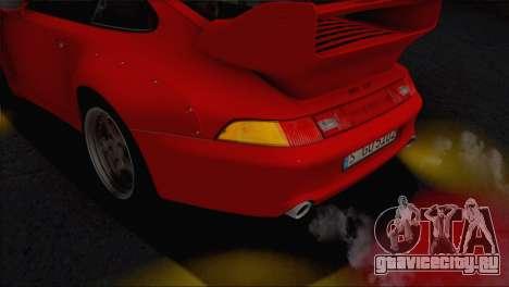 Porsche 911 GT2 (993) 1995 V1.0 EU Plate для GTA San Andreas салон