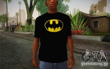 Batman Swag Shirt для GTA San Andreas