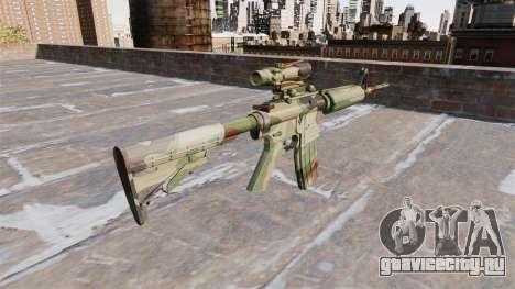 Автоматический карабин М4А1 NATO Camo для GTA 4 второй скриншот