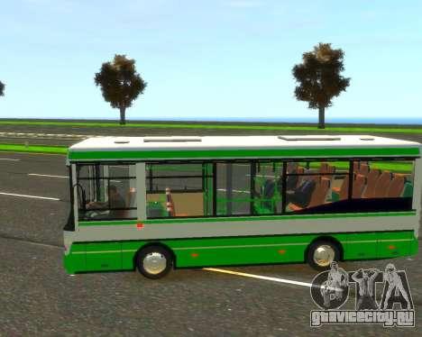 ПАЗ 3237а для GTA 4 вид слева