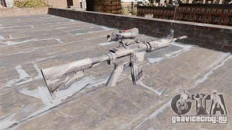 Автоматический карабин М4А1 Grey cane Camo для GTA 4 второй скриншот