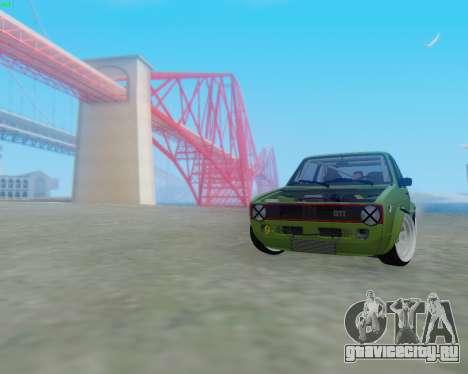 Volkswagen Golf Mk I для GTA San Andreas вид слева