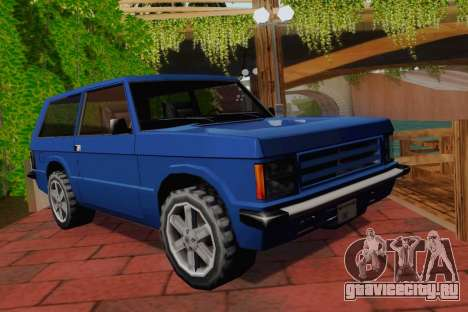 Huntley Coupe для GTA San Andreas