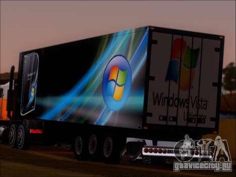 Прицеп Windows Vista Ultimate для GTA San Andreas