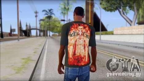 Undertaker T-Shirt для GTA San Andreas второй скриншот