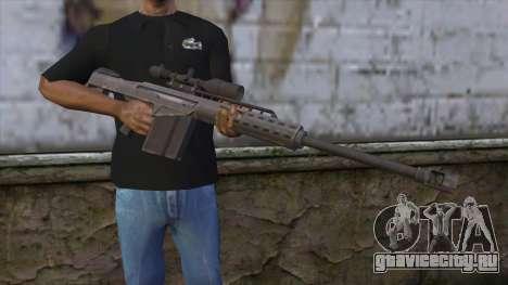 Heavy Sniper from GTA 5 v2 для GTA San Andreas третий скриншот
