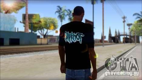 SlipKnoT T-Shirt v3 для GTA San Andreas второй скриншот