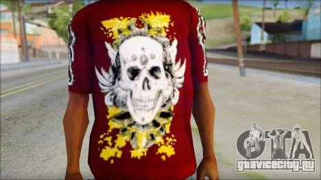 Skull T-Shirt для GTA San Andreas третий скриншот