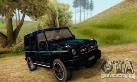 Mercedes-Benz G65 Black Square Pattern для GTA San Andreas