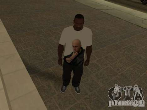Футболка Физрук для GTA San Andreas третий скриншот