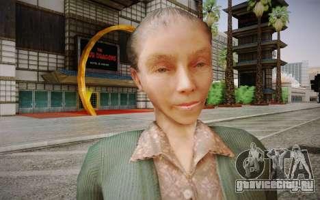 Пожилая женщина для GTA San Andreas третий скриншот