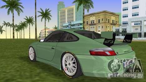 Porsche GT3 Cup 996 для GTA Vice City вид слева