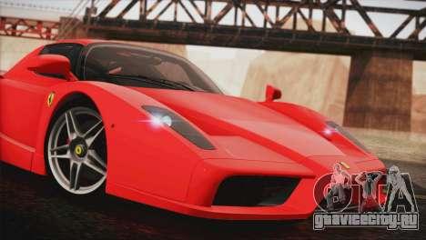 Ferrari Enzo 2002 для GTA San Andreas вид сзади слева