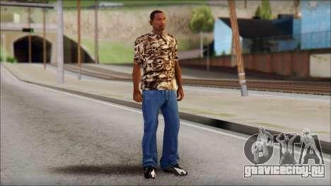 Skulls Shirt для GTA San Andreas третий скриншот