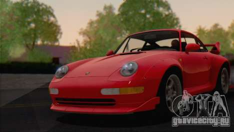 Porsche 911 GT2 (993) 1995 V1.0 EU Plate для GTA San Andreas