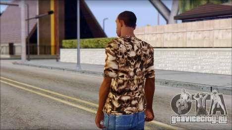 Skulls Shirt для GTA San Andreas второй скриншот