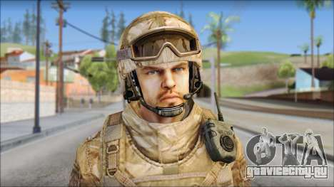 Desert SAS from Soldier Front 2 для GTA San Andreas третий скриншот
