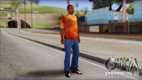 Batik Solo T-Shirt для GTA San Andreas третий скриншот