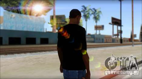 Iron Maiden T-Shirt для GTA San Andreas второй скриншот