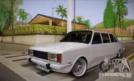 Peykan 1600i Limo для GTA San Andreas