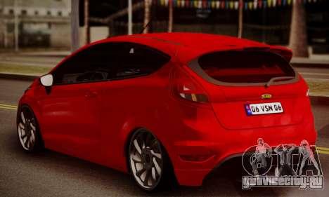 Ford Fiesta Turkey Drift Edition для GTA San Andreas вид слева