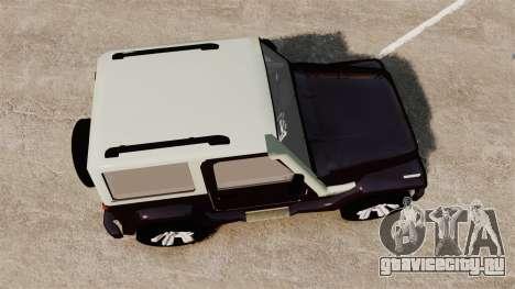 Troller T4 для GTA 4 вид справа