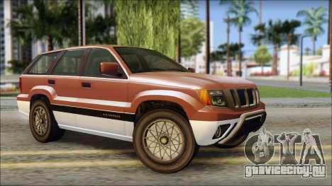 Seminole from GTA 5 для GTA San Andreas