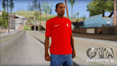 Turkish Football Uniform v4 для GTA San Andreas