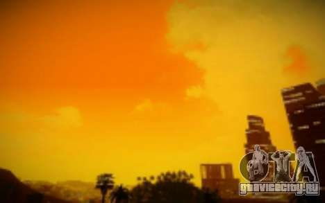 FIXED SkyBox Arrange - Real Clouds and Stars для GTA San Andreas третий скриншот