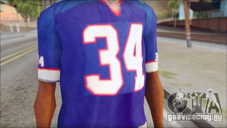 NY Buffalo Bills Blue для GTA San Andreas третий скриншот