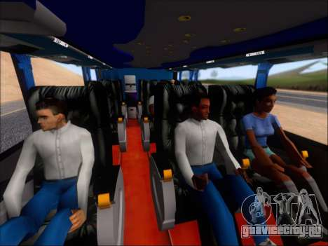 Metalsur Starbus DP 1 6x2 - La Veloz del Norte для GTA San Andreas вид сверху