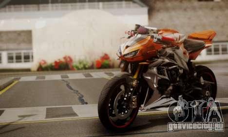 Kawasaki Z1000 2014 для GTA San Andreas