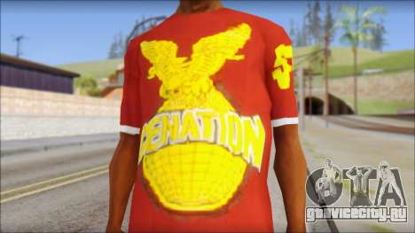 Cenation EHacker Shirt для GTA San Andreas третий скриншот